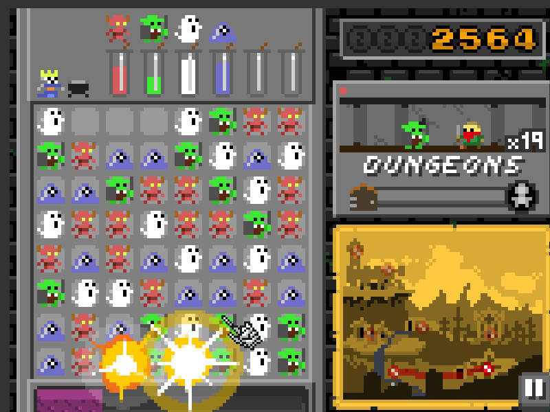 Monster Match Screenshot 2 Thumbnail